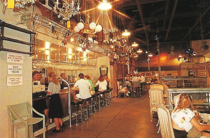 The Catwalk Bar at the Disney-MGM Studios