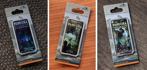 March, April, and May Pin Releases for Pandora: The World of AVATAR Countdown